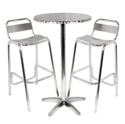 Alum Stools And Table 400
