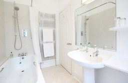 En-suite at Knockendarroch Hotel and Restaurant in Pitlochry