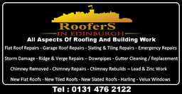 Roofers In Edinburgh, All Aspects Roofing Repairs