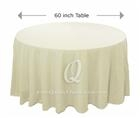 Round Tablecloth Hire