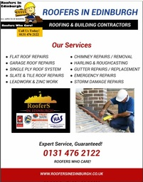 Roofers In Edinburgh,Roofing Services, Roof Repair