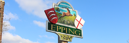 Epping Town sign by Lyttons Estate Agents
