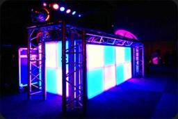 Intamixx LED DJ Booth