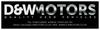 D & W Motors Ltd