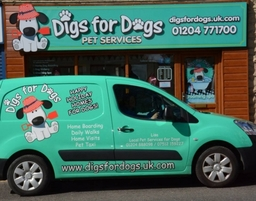 Digs for Dogs transport