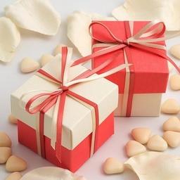 Wedding Favour Box - Two Tone