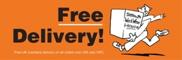 Free UK mainland delivery on orders over £95