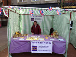 At the Bexhill Farmers' Market