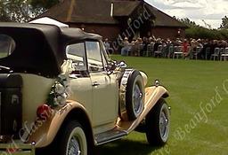 Beauford Wedding Car Laughton Barns Sussex