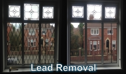 We can replace your leaded glass for clear windows and vice versa.