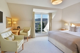 Balcony room at Knockendarroch Hotel and Restaurant in Pitlochry
