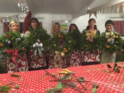 Craft School - Christmas Wreath Making