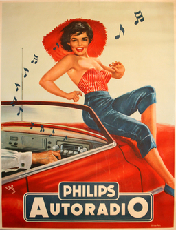 AntikBar - Philips Autoradio