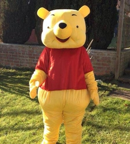 Winnie the pooh mascot costume from £40
