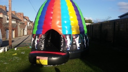 Disco Party Dome Bouncy Castle