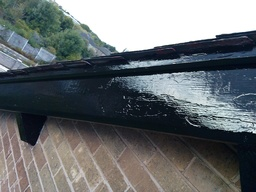 Repainting of soffits and Fascia boards