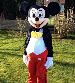 Micky mascot costume from £50