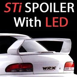 Classic Subaru STi Highline Spoiler