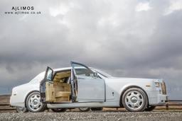 AJ LIMOS wedding car hire , Rolls Royce Phantom