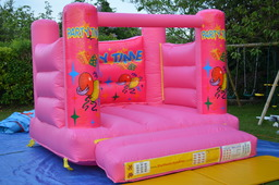 Small Pink Bouncy castle