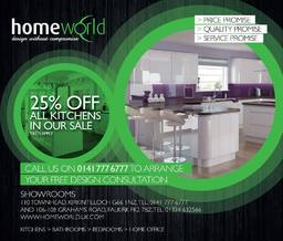 Homeworld Kirkintilloch Advert