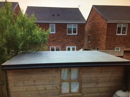 Garden shed EPDM RUBBER ROOF