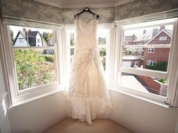 wedding dress photographs