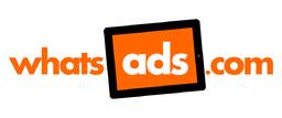Custom logo, designed for WhatsAds.com (Sheffield)