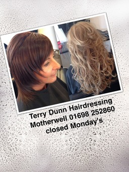 Terry Dunn hairdressing motherwell