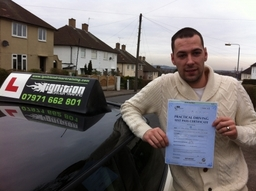 Congratulations to Liam Sykes!