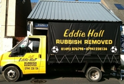 Eddie Hall Rubbish Collection Van