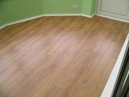 Quick Step Oak Flooring in 4 v groove