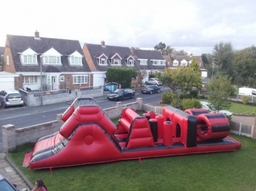 36ft X 10ft Assault Course 85.00 per day