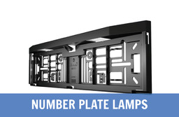 LED Number Plate Lamps