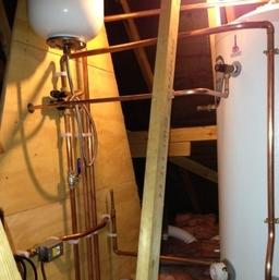 Cylinder In Loft