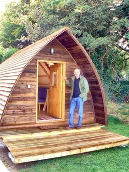 The new Wigwam camping cabins