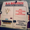 B A Bowden Electrical Services