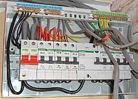 Consumer Unit being installed