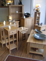 Harvest Solid Oak Occasional Collection