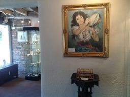 inside York Minster Antiques Shop