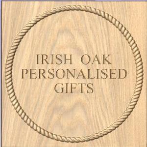 Irish oak personalised gifts