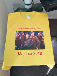 Stag Do / Hen Night Printing
