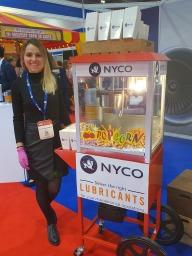 excel exhibition popcorn machine hire aylin sweets