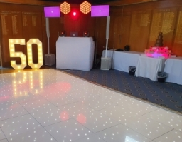 Disco and Light Up Numbers