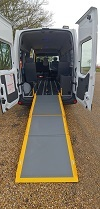 Warnerbus Renault Minibus Conversion with ramp