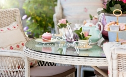 Afternoon Tea In The Garden hospality photography by Simon Bratt photography