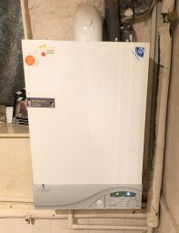 Old Gas Boiler Repaired