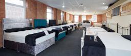 onestop interiors beds showroom Nottingham
