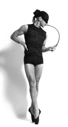 Our great friend and loyal customer in his Pointe Shoes, Darren Suarez