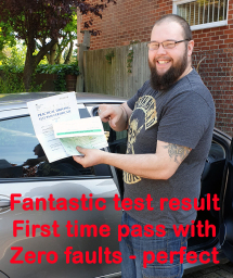 Orpington driving instructor gets Liam a pass